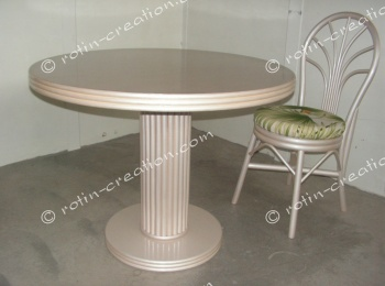 Table MENTON ronde fixe